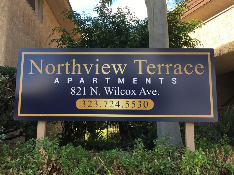 Apartment Complex Signs, HOA Signs, Community Signs, Anaheim, CA 92804