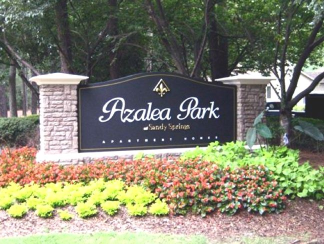 GA16403 - Monument Sign for Sandy Springs Azalea Park