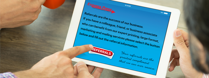 Referrals are the greatest compliment!