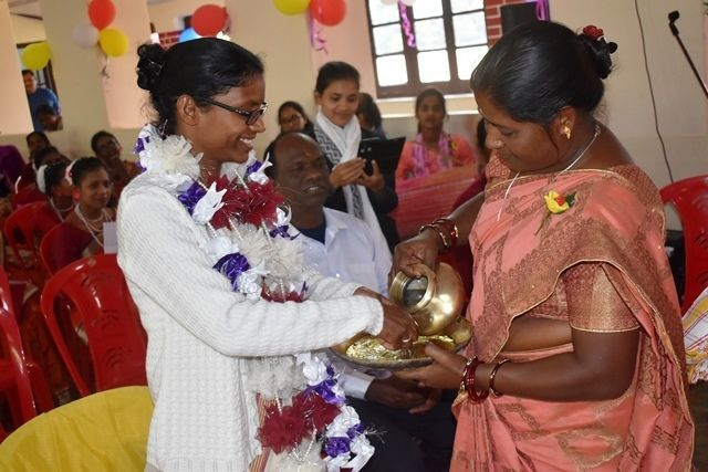 Sr. Mariam Julita Toppo makes vows for life in North India