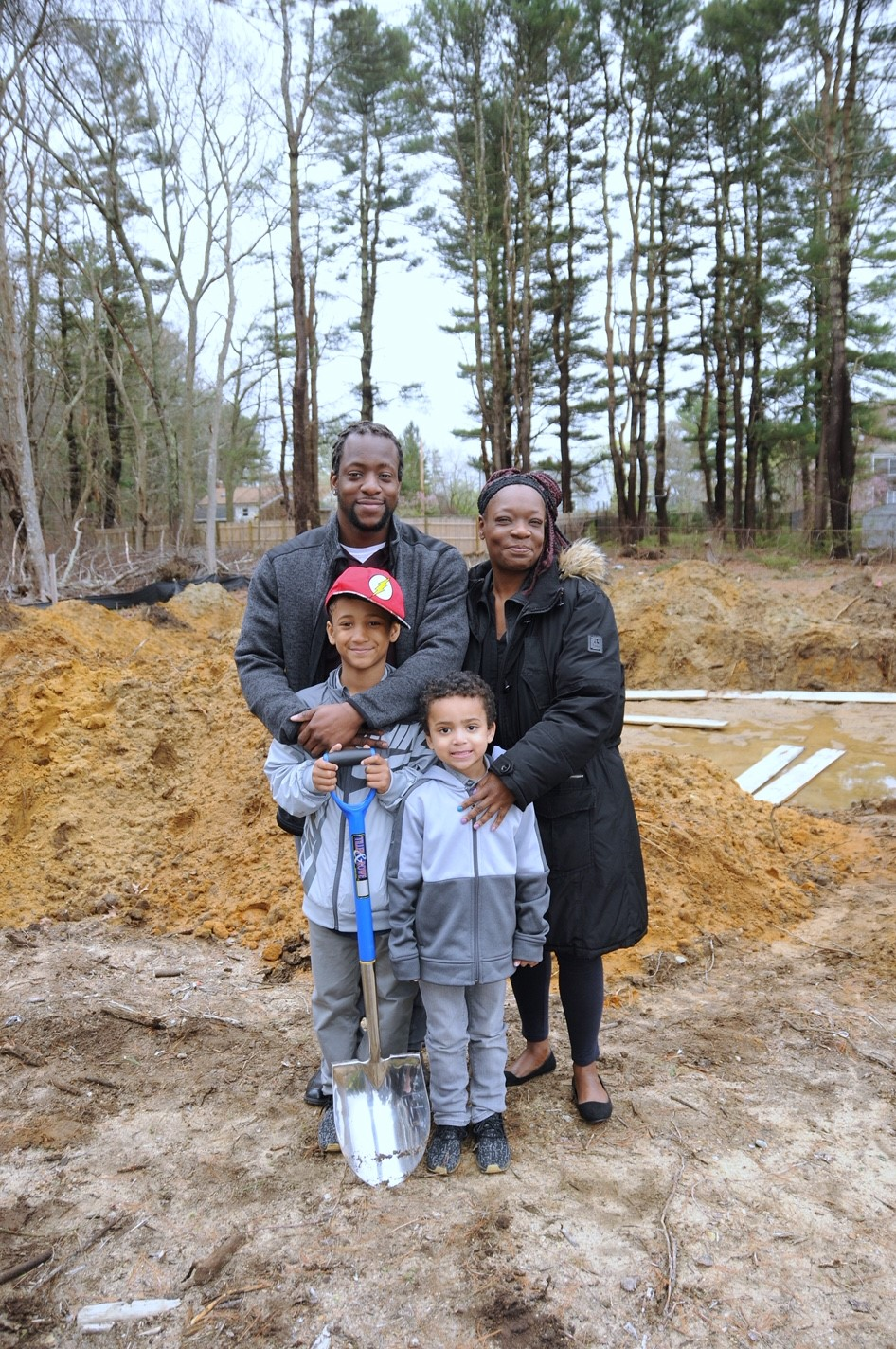 Future homeowner of 20 Brentwood Road in Kingston