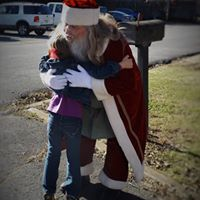 Santa making wishes come true!