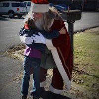 Santa making wishes come true!
