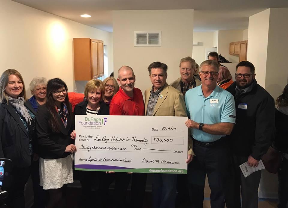 DuPage Foundation Achieves Giving Milestone with 2017 Spirit of Volunteerism Awards