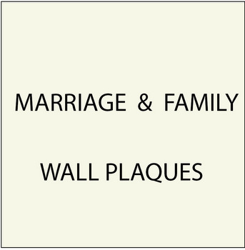 N23050 - Marriage and Family Plaques