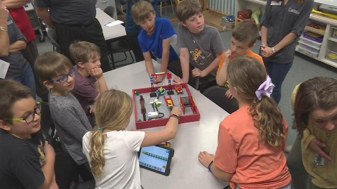 CSISD showcases grant programs implemented in classrooms