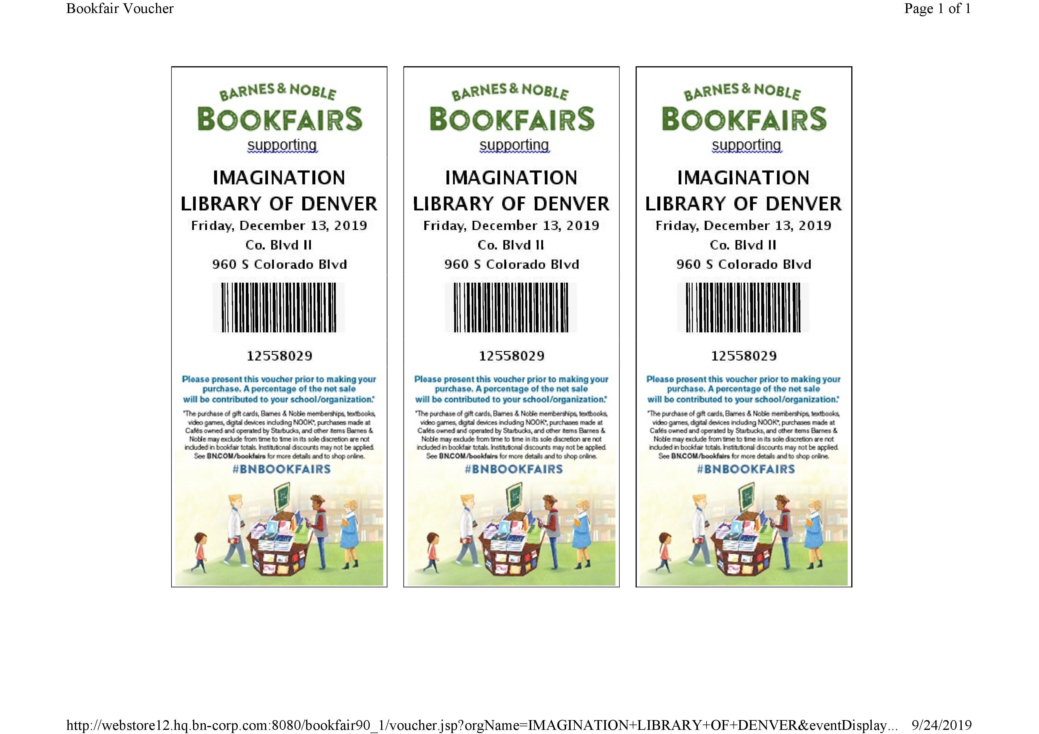 Barnes & Noble Book Fair & Fundraiser
