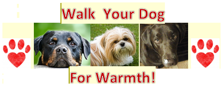 Walk for Warmth event offers fun for two and four-legged participants alike