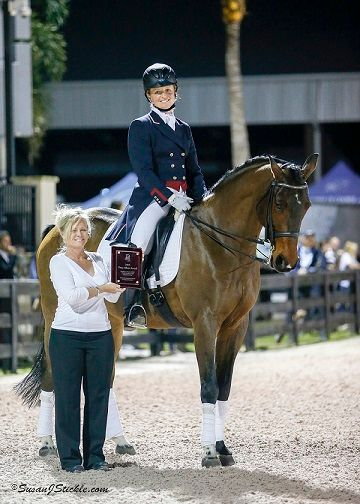 TDF's Patsy Albers Award to be Presented at  U.S. Dressage Festival of Champions