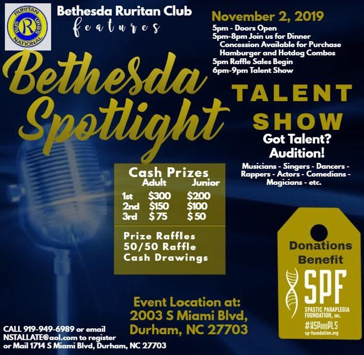 Bethesda Spotlight Dinner and Talent Show