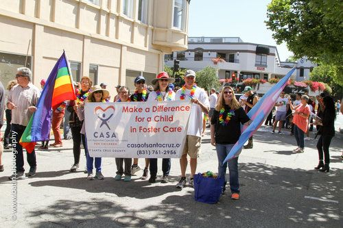 Walk with CASA in the Santa Cruz Pride Parade
