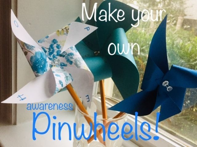 Craft for a Cause:  Make Your Own Pinwheel