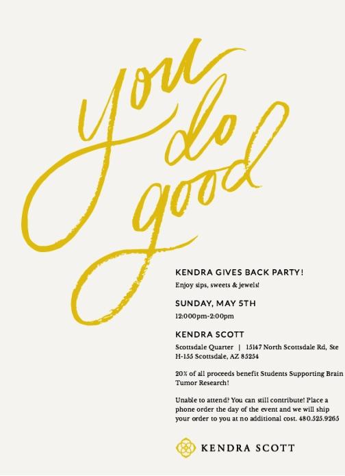 Kendra Scott Flyer