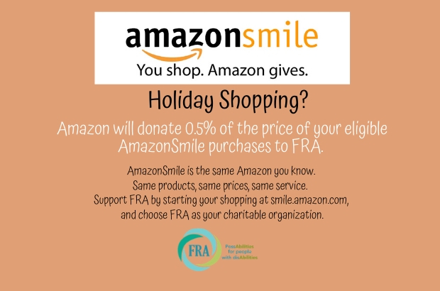 Help Support FRA when you order online this holiday season.