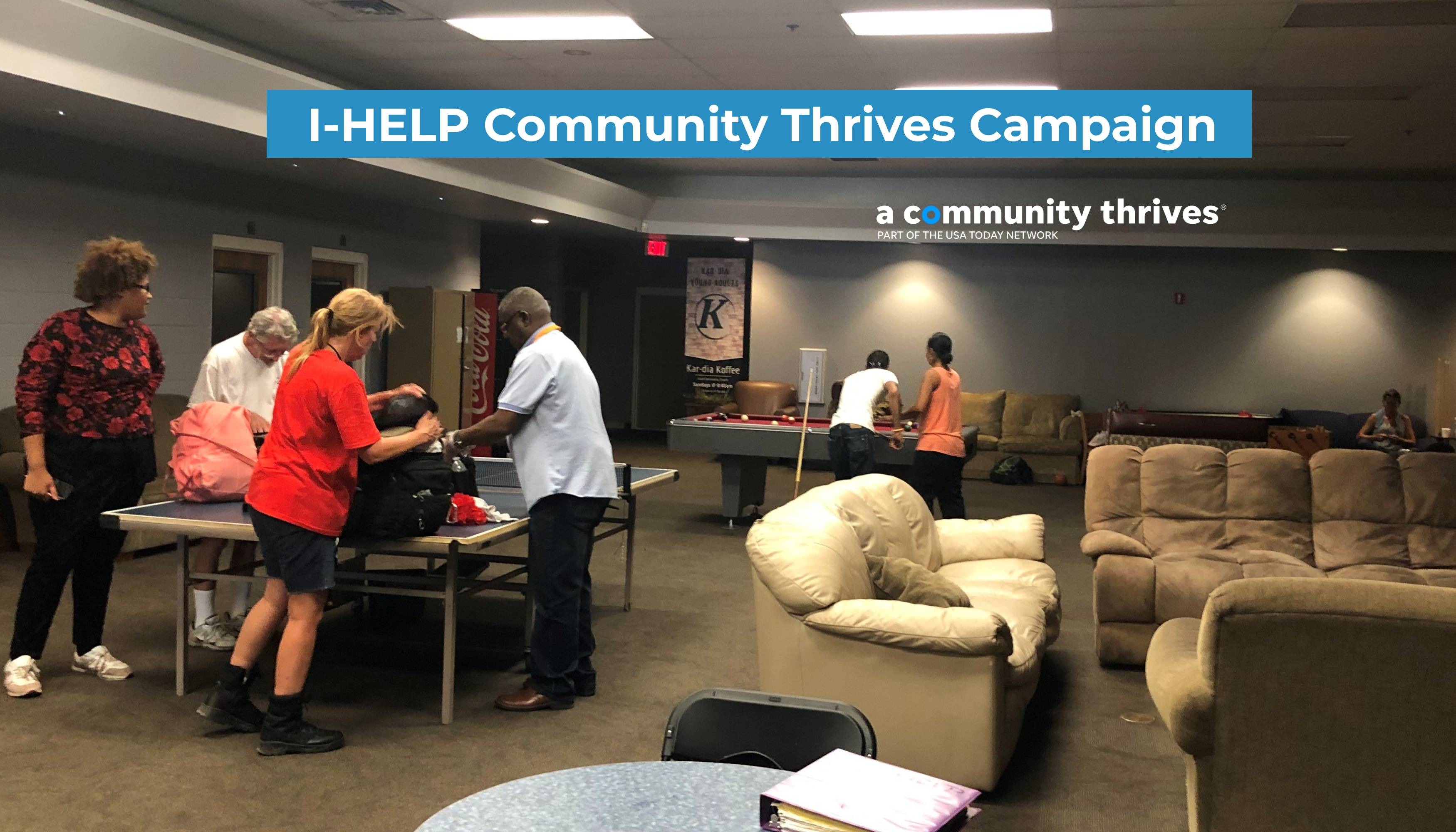 I-HELP Community Thrives Campaign