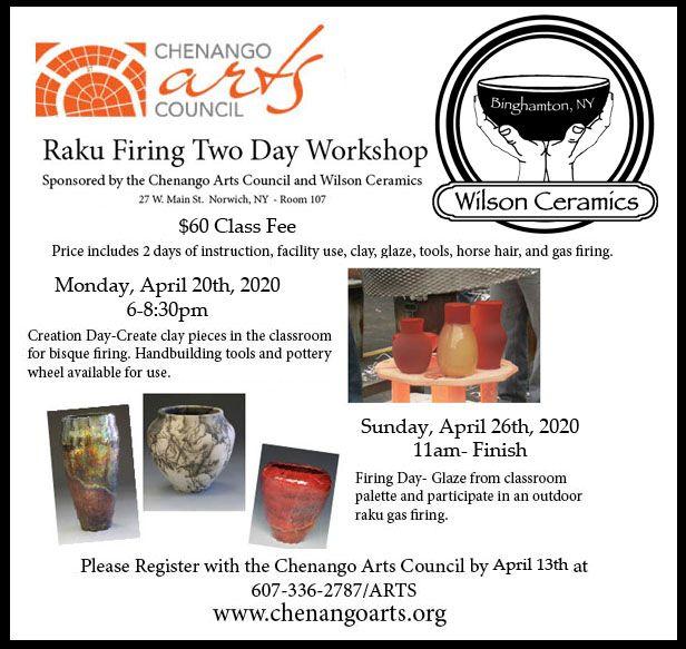 Raku Two Day Workshop