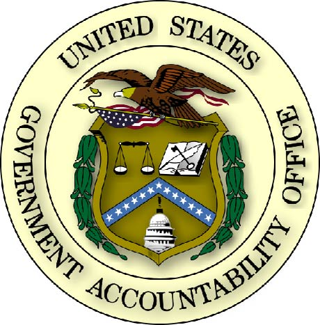 U30404 - US General Accounting Office (GAO) Seal Carved Wood Wall Plaque