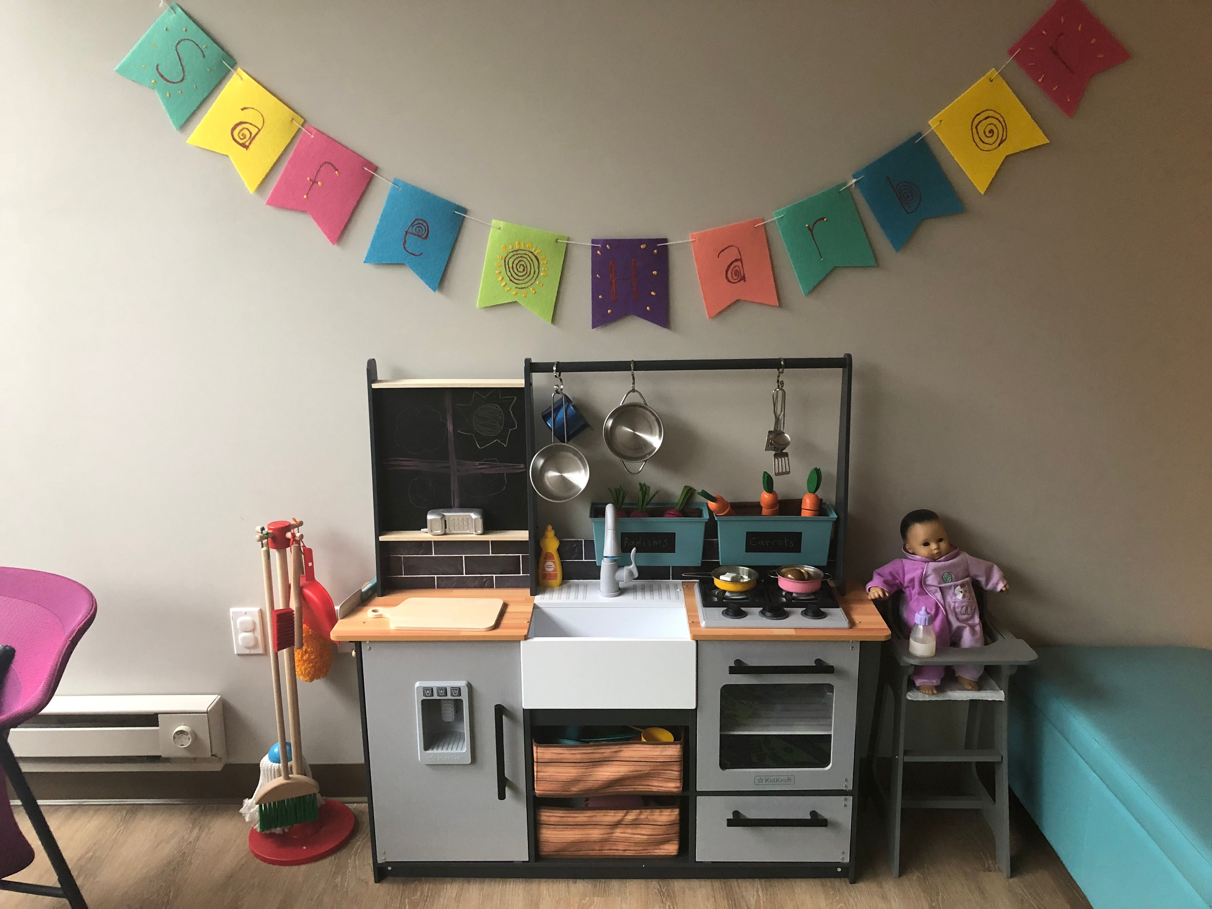 The kitchen is open for kids!