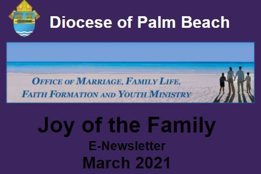 Joy of the Family e-Newsletter - March