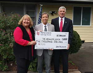 Newtown Savings Bank Donates $5,000 to Kennedy Center Group Home