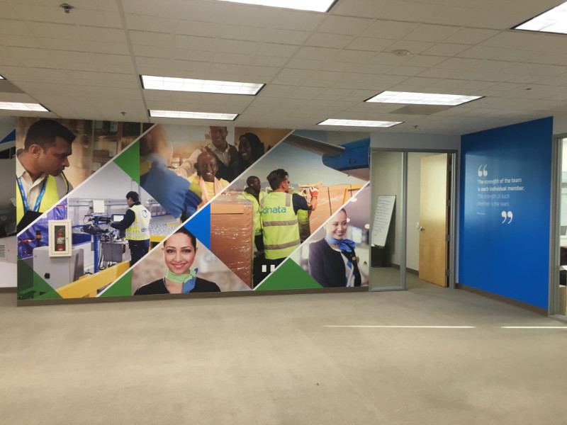 Corporate Office Wall Murals Torrance CA