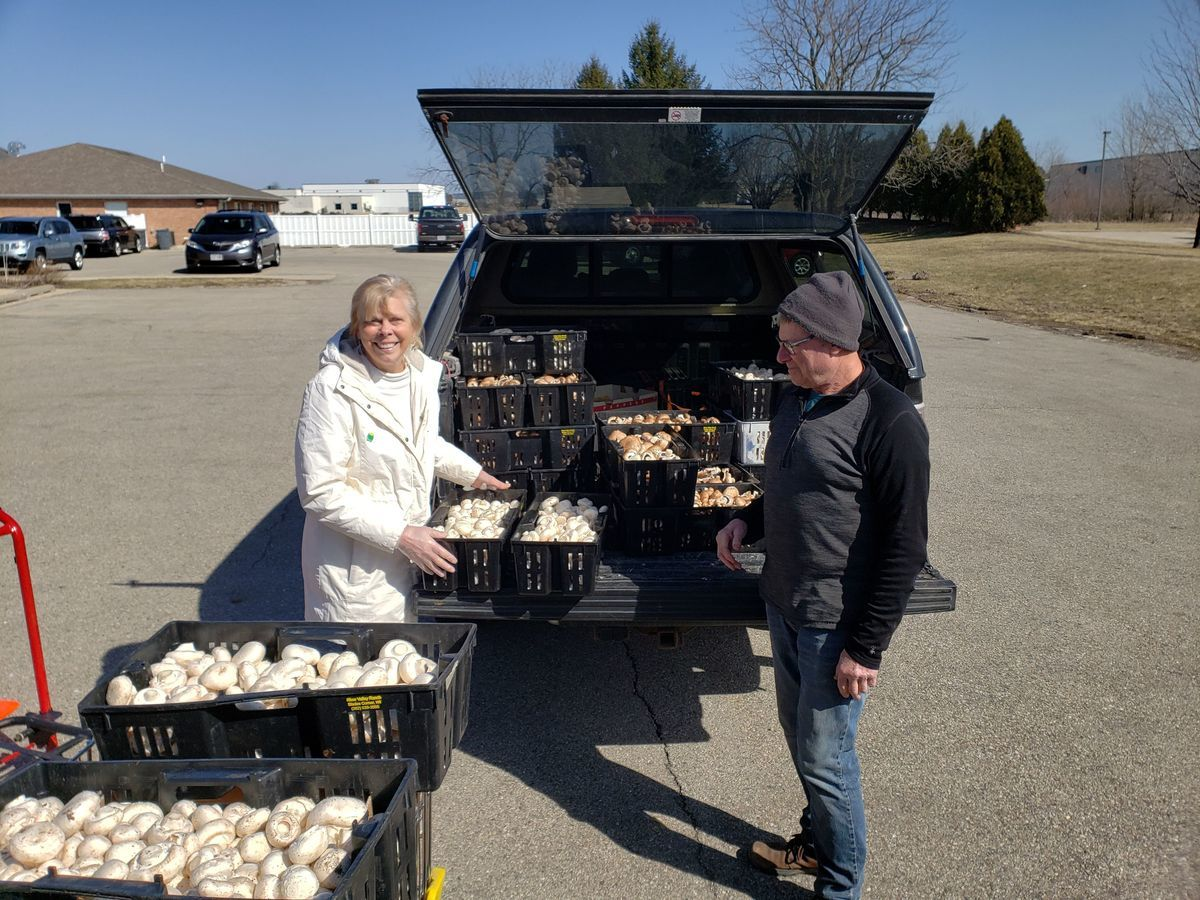 Fresh Mushrooms from River Valley Ranch