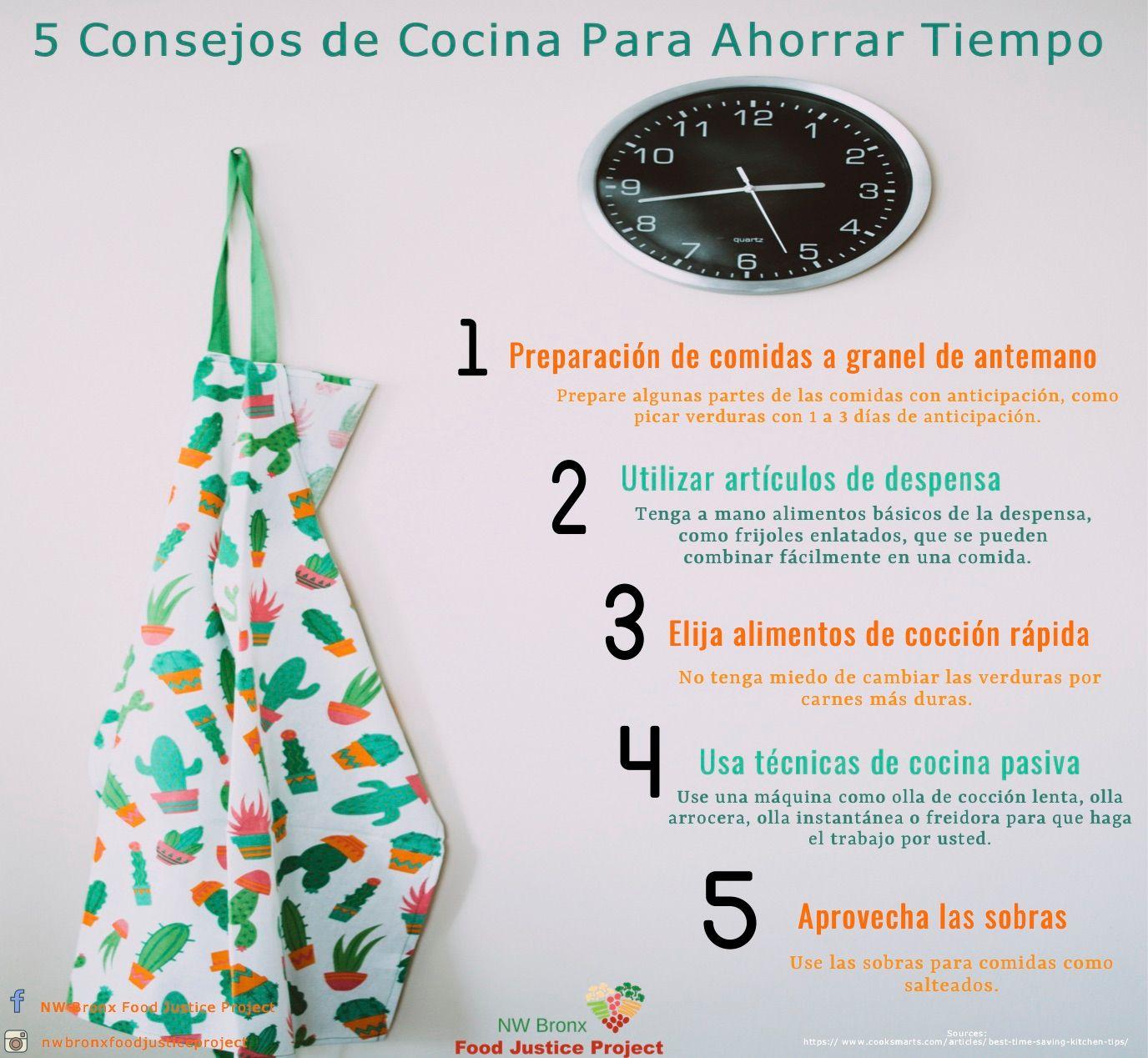 5 Consejos de Cocina Para Ahorrar Tiempo