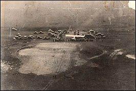 Charles Lindbergh takes off