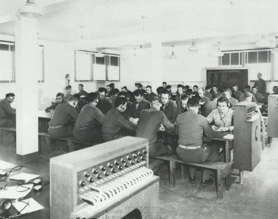 1942: Army Transfers Cryptographic Division School