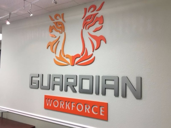 3D Logo Letter Lobby Signs in Orange County CA