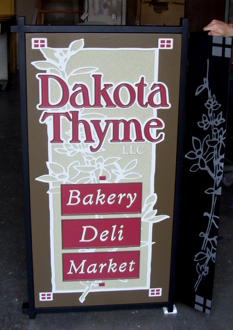 Q25621 - Bakery, Deli and Market Carved HDU Sign