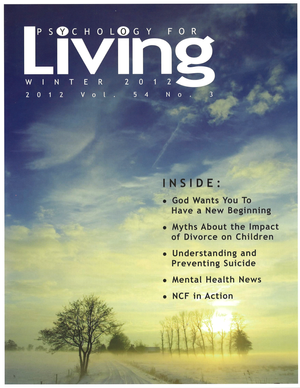 Psychology for Living Winter 2012