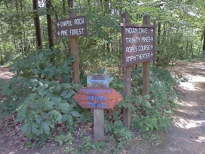 Hiking Trails Sign