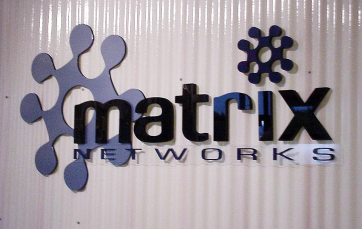 Matrix Dimensional Lettering