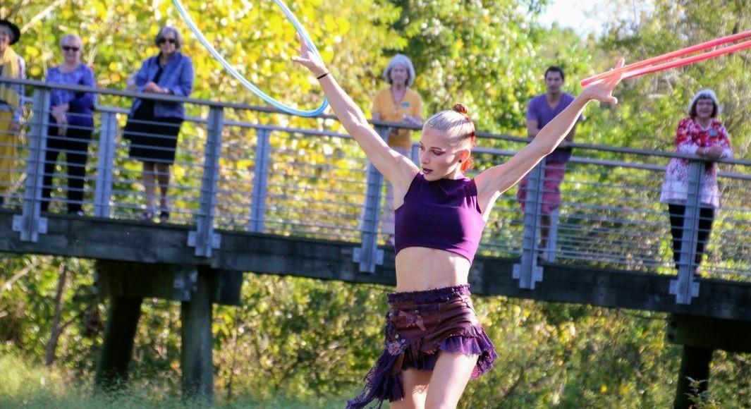 Join Mina Bear June 10 for a hoop dance workshop!