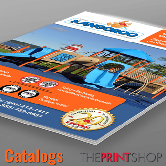 Catalogs - Full color, up to 25 pages