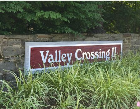 Valley Crossing II sign