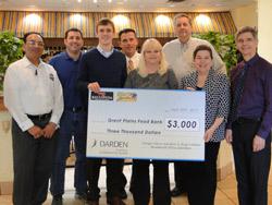 Darden Restaurants Award GPFB $3000 Grant