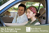 The 8 Danger Zones for Teen Driving