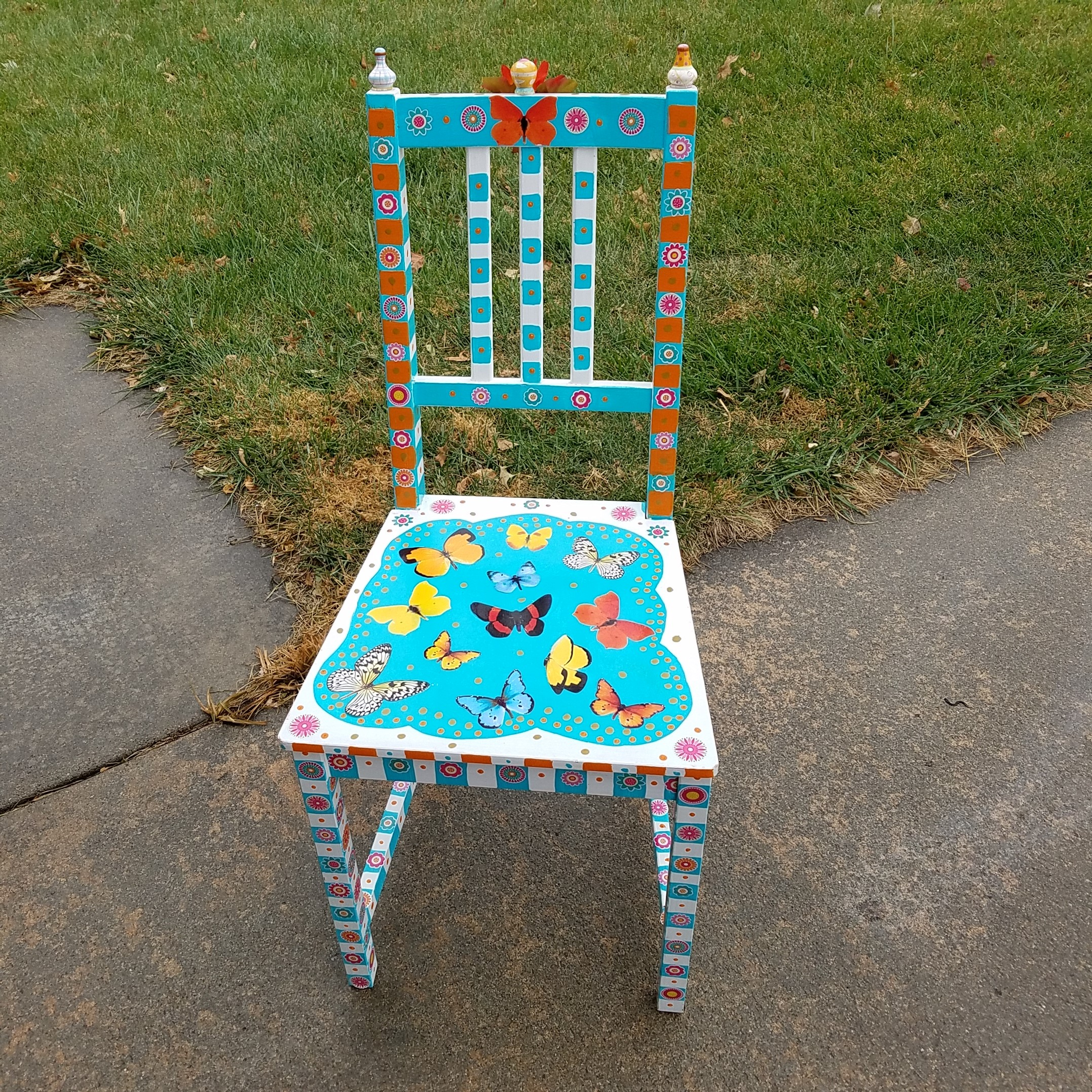 On a Wing and a Chair by Rhonda Lake