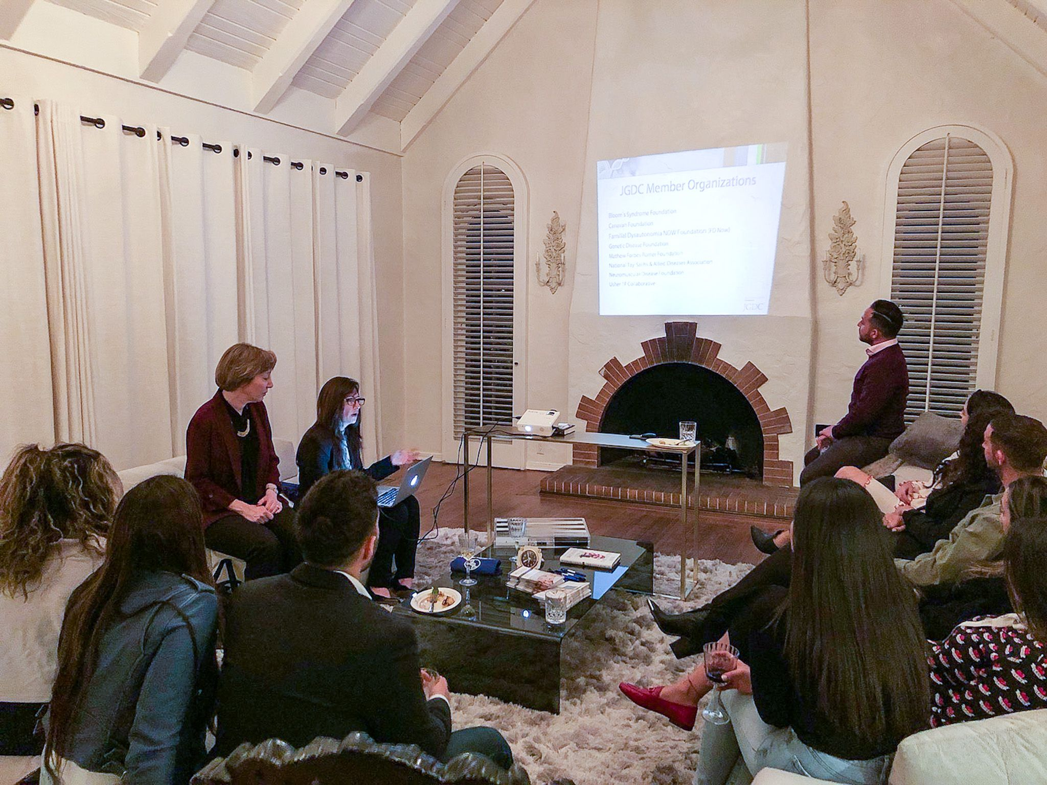 NDF Ambassadors' Meeting with Jewish Genetic Disease Consortium & JScreen