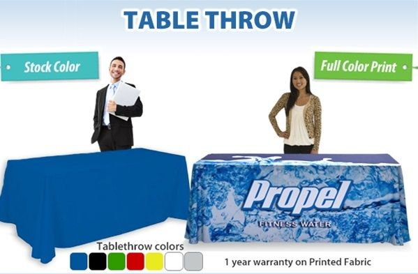Trade Show Tabel Throw 5