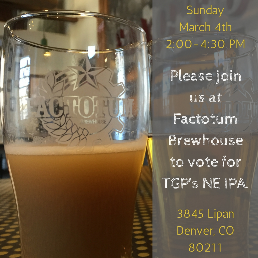 March 4th - Factotum Brewhouse