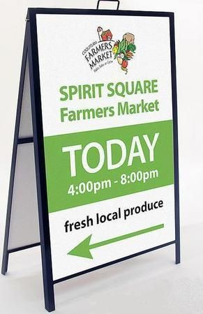 sandwich boards, a frame sandwich boards, toronto sandwich board printing, custom sandwich board