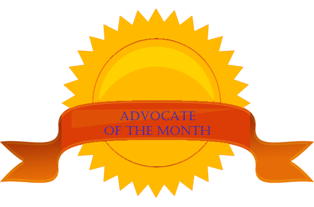 December 2018 Advocate of the Month