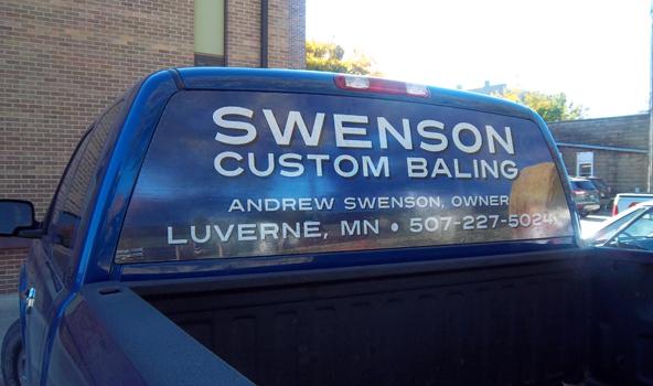 Vehicle Perforated Window Film