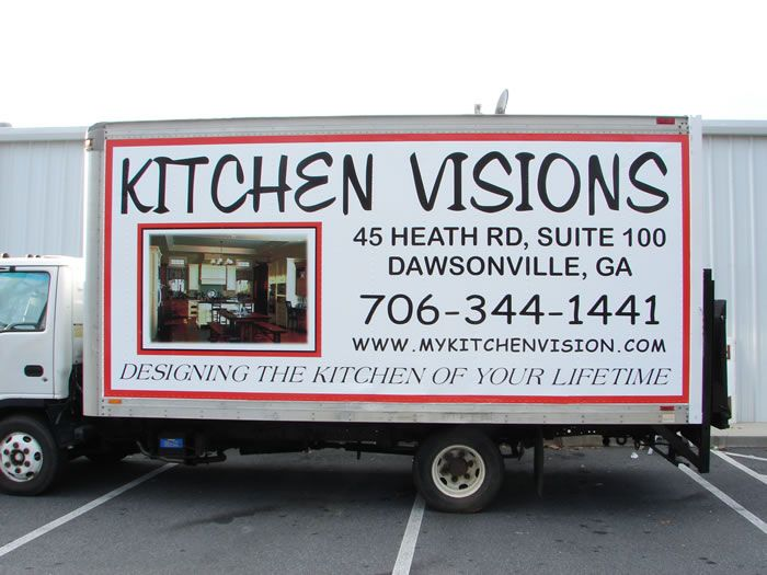 Kitchen Visions Full Vehicle Wrap