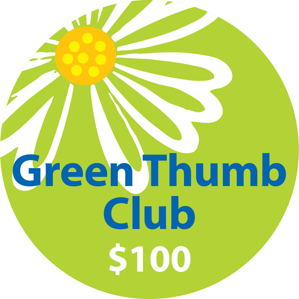 5. Green Thumb Club - $100