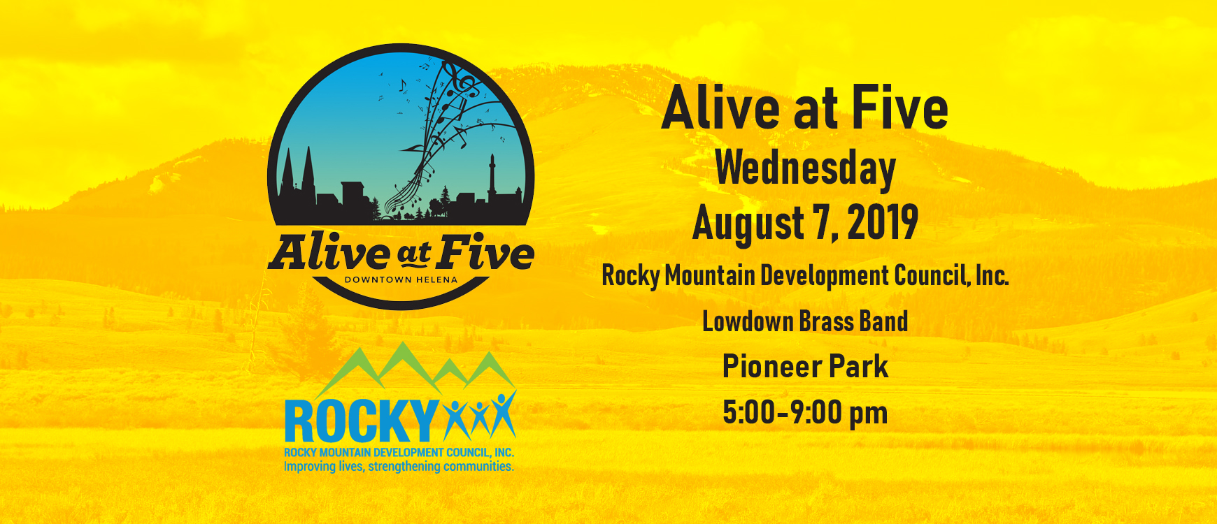 Rocky at Alive at Five!