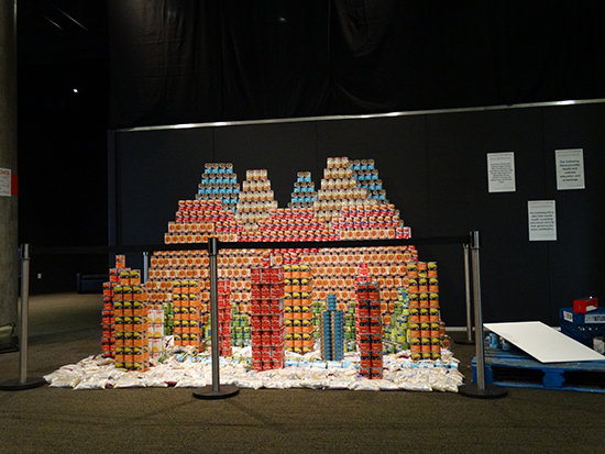 Canstruction Denver 2014